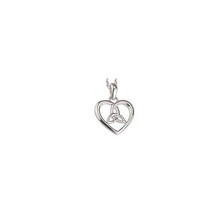 Sterling silver celtic love knot pendant fallers fallers sterling silver celtic love knot pendant aloadofball Image collections
