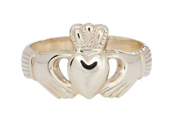 Claddagh Rings Fallers Claddagh Ring Engagement Ring