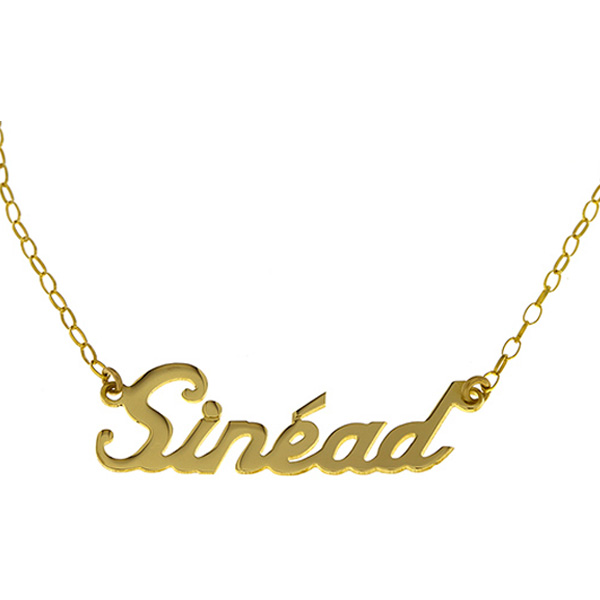 9K Name Necklace