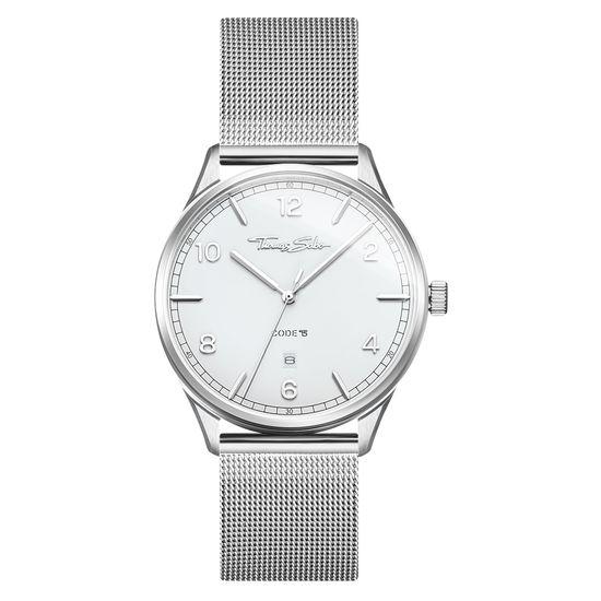 97a158254c Thomas Sabo Code TS Unisex Watch Silver White | Thomas Sabo ...