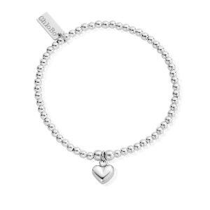 Chlobo Cute Puffed Heart Bracelet