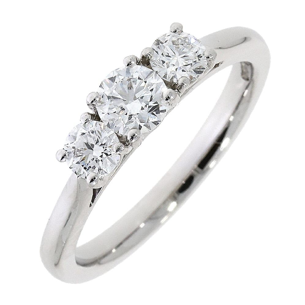Engagement Rings Galway: Platinum Trilogy Diamond Ring