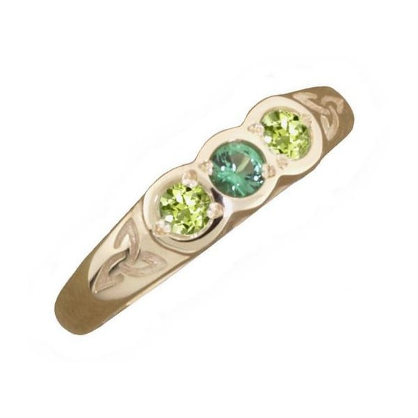 Family Birthstone Ring in 9ct Gold